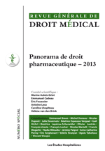 Panorama de droit pharmaceutique - 2013
