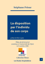 La disposition par l'individu de son corps